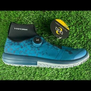 NEW UNDER ARMOUR Speed Tire Ascent Mid Blue